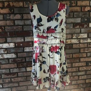 Entro floral dress worn once